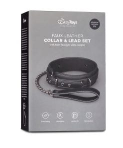 Fetish collar With Leash