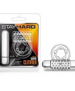 Stay Hard Vibrating Super Clitifier Clear