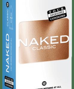 Condom Ultra Thin 12pk Naked Classic 54mm
