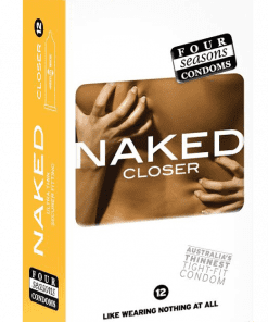 Condom Ultra Thin 12pk Naked Closer 49mm