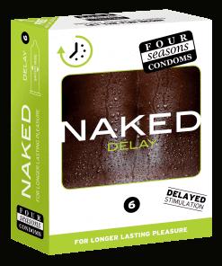 Condom 12pk Naked Delay 54mm