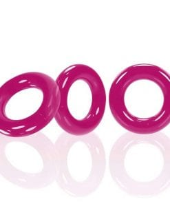 Willy Rings Hot Pink