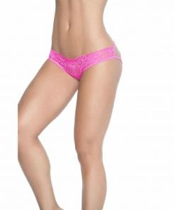 Caged Lace Pantie Pink