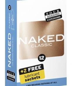 Four Seasons Naked Classic Condom 12 Pc