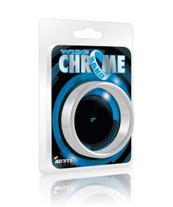Wide Band Chrome Cock Ring 51mm