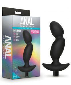 Anal Adventures Platinum Silicone Prostate Massager 04